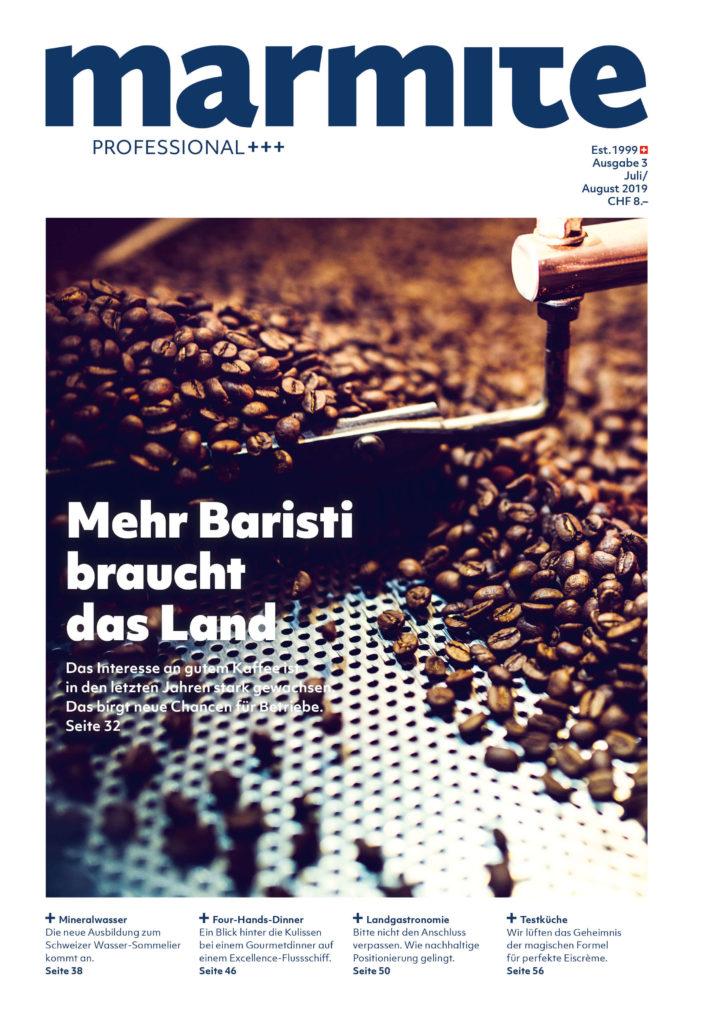 Marmite magazine cover Juli / August 2019